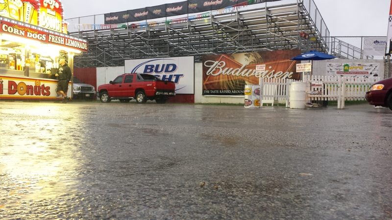 Rain wipes out Thursday's events