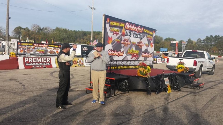 CASEY JOHNSON GIVEN BIG 8 SERIES WIN AFTER HERBST DQ AT OKTOBERFEST