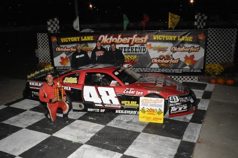 Eight Winners Crowned on Opening Night of the 46th Annual Oktoberfest Race Weekend at La Crosse Fairgrounds Speedway