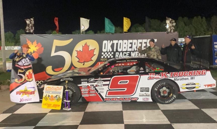 VICTORIES BY KRAUS AND MAJESKI HIGHLIGHT NIGHT ONE OF OKTOBERFEST
