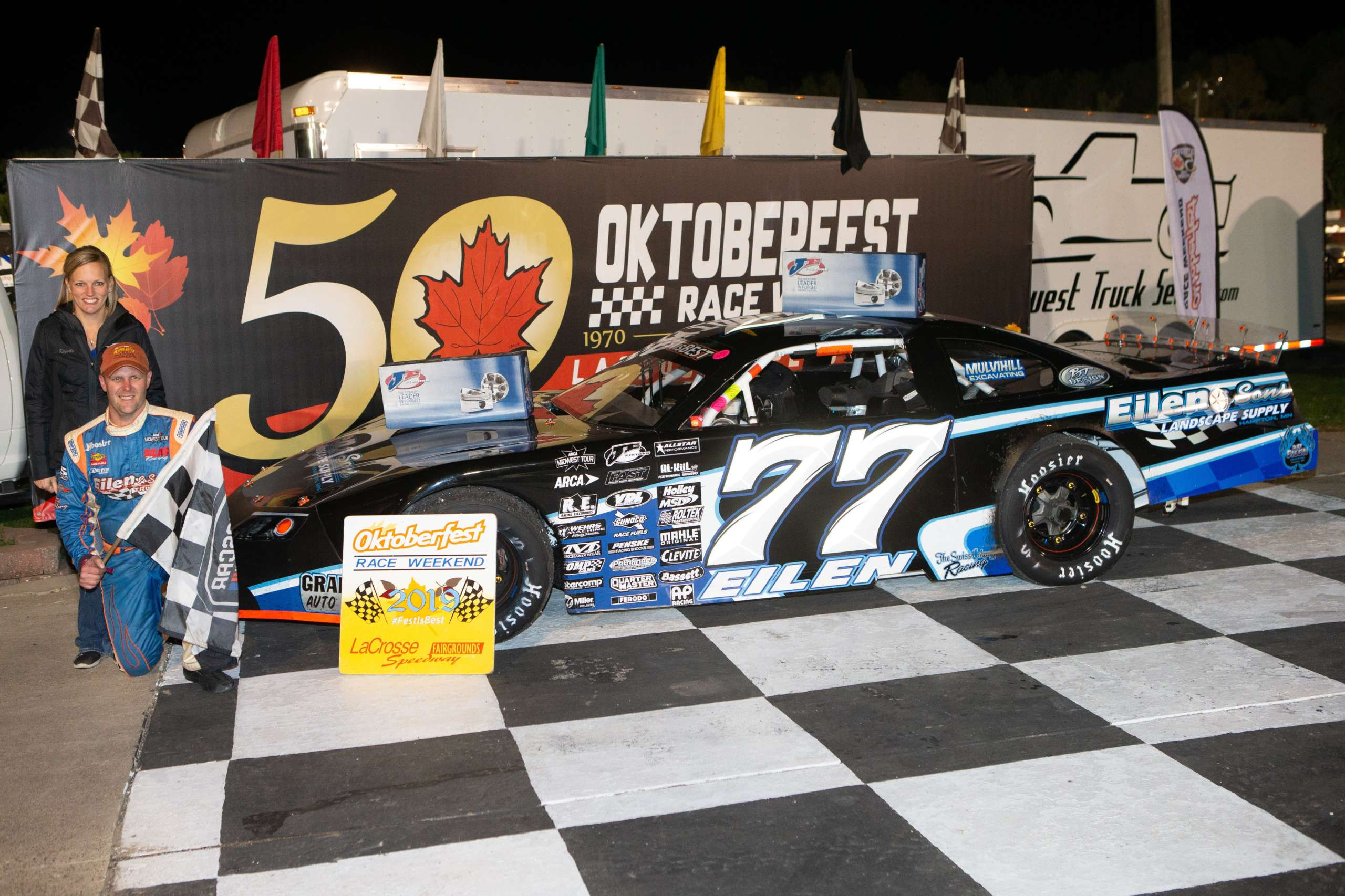 Six Features Make For an Action Packed Friday Night at Oktoberfest Race Weekend